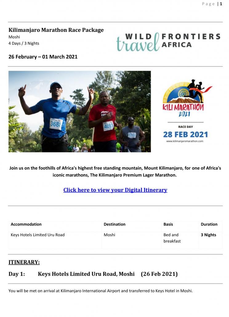 2021 Kilimanjaro marathon package 3 nightsts_Keys USD RACK-1