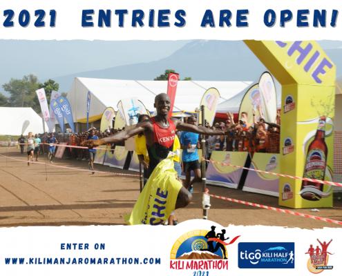 Kilimanjaro Marathon 2021 Entries Open